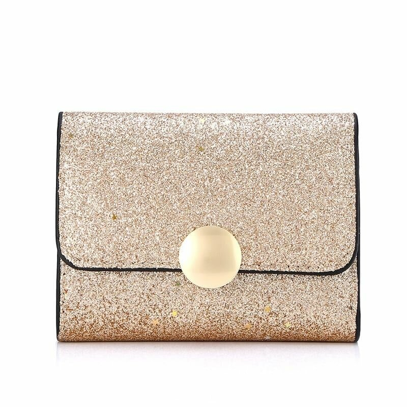 Women Multi-slots Short Wallet Coin Purse (SKUB40100) photo