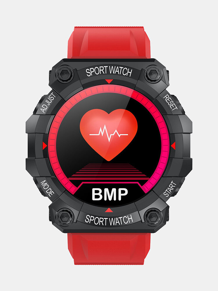 Heart Rate Monitor Custom Dial Music Control Weather Display Fashion Sport Style Design Smart Watch