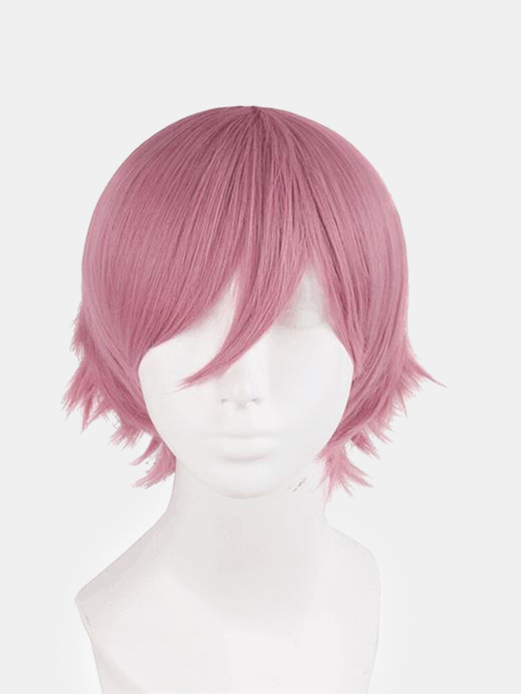 Colorful Short Cosplay Synthetic Wig High Temperature Fiber Hair For Cosplay Costume Party
