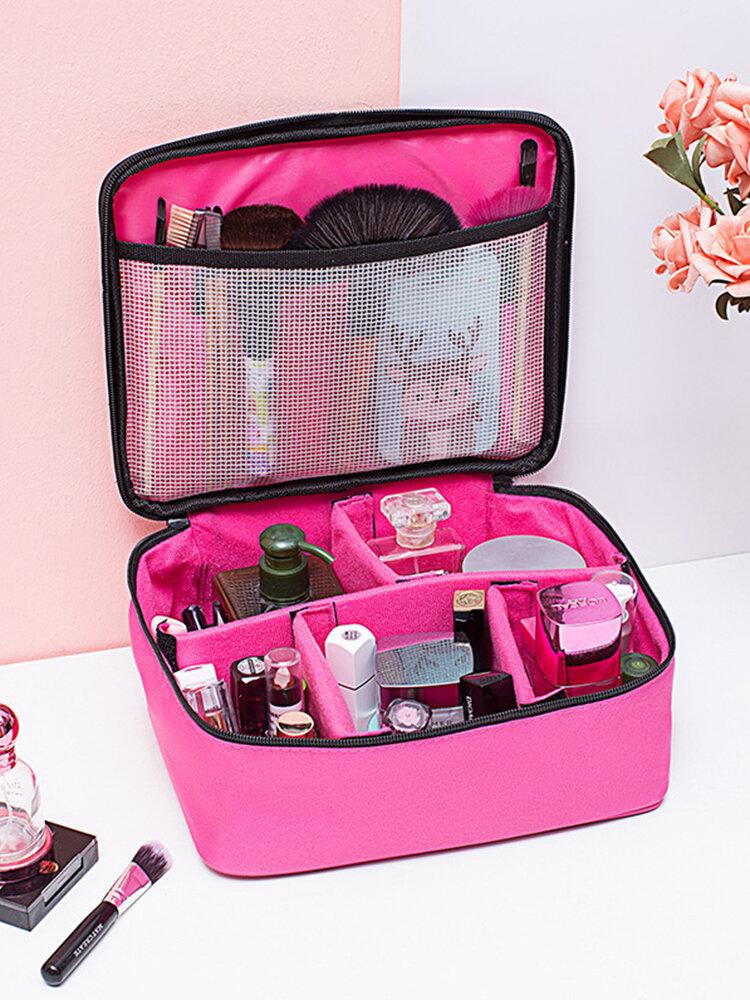 Oxford Large-capacity Multifunctional Travel Waterproof Portable Cosmetic Storage Bag