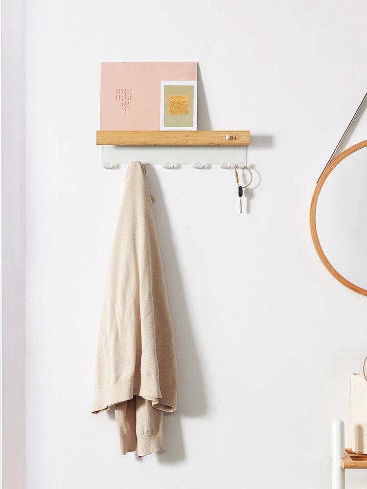 CHENGSHE Multi-function Wall Hanging Hook Key Holder Rack Home Office Storage Hanger Wall Mount Hooks