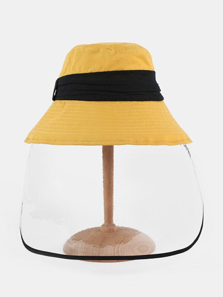 Anti-fog Brim Hat Sun Visor Fisherman Hat Cover Face