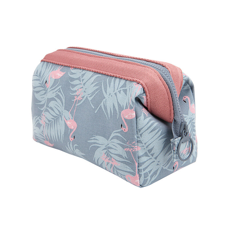 Flamingo Waterproof Travel Multi-functional Cosmetic Bag Portable Ladies Make-up Wash Storage Bag