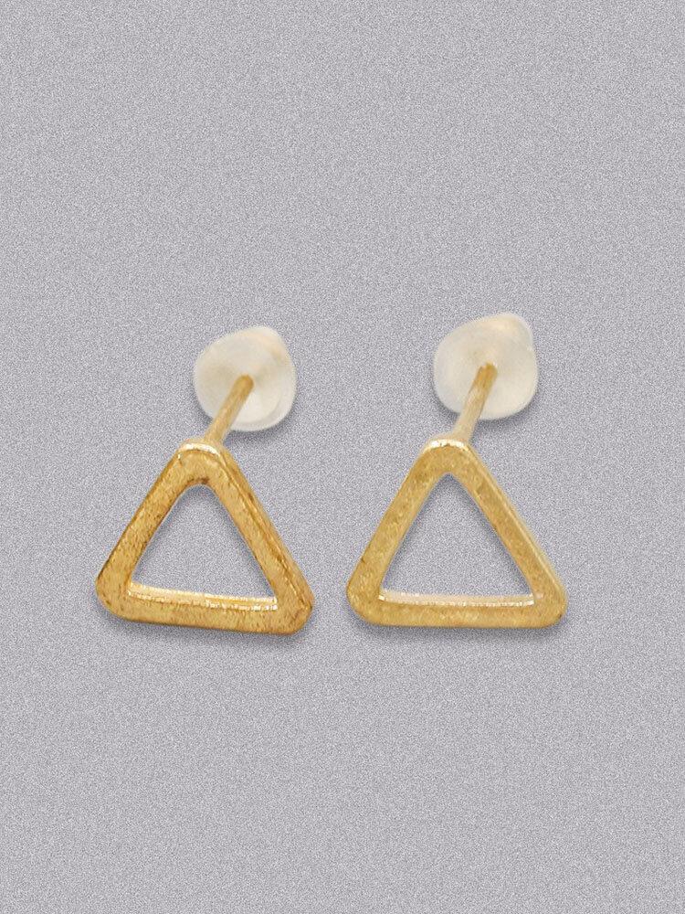 Simple Women Earrings Geometry Circle Triangle Square Rectangle Earrings