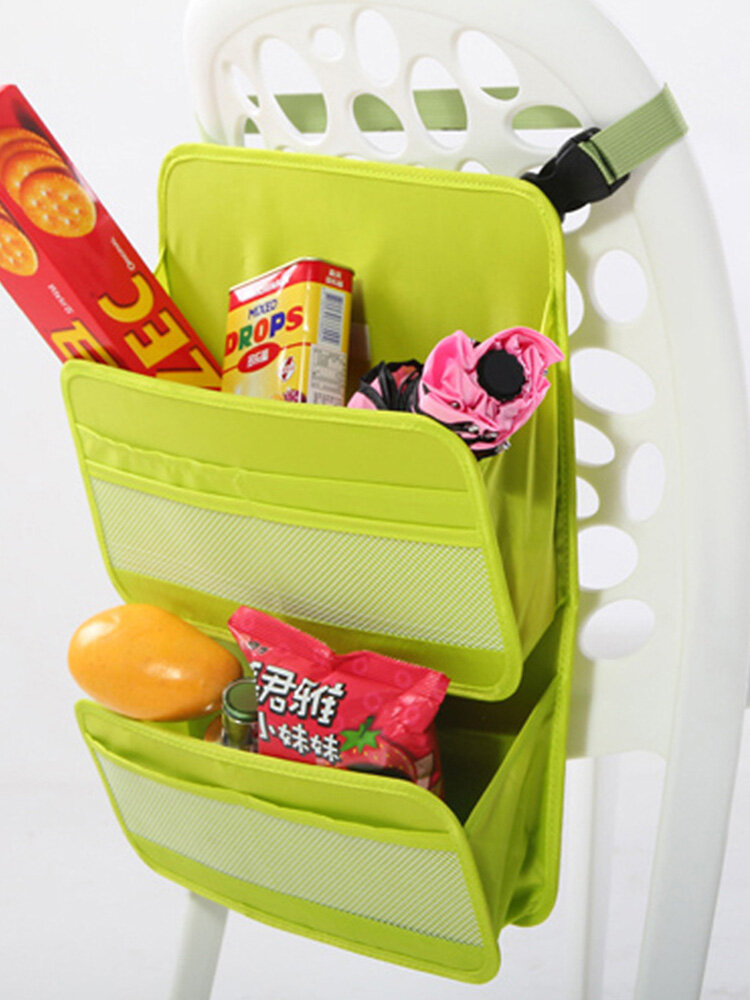 Double Multifuctional Oxford Waterproof Pinic Bag Car Storage Bag Food Outdoors Storage Container