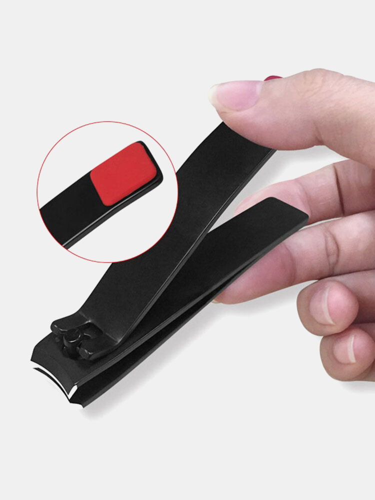 Stainless Steel Nail Clipper Large Size Manicure Tool Finger Toe Trimmer Nail Clipper