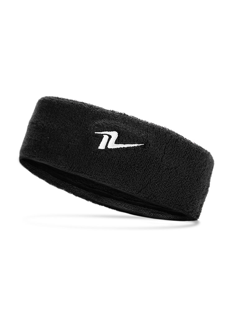 Men Women Sports Breathable Cotton Sweatband Yoga Fitness Hairband Outdoor Sports Headband
