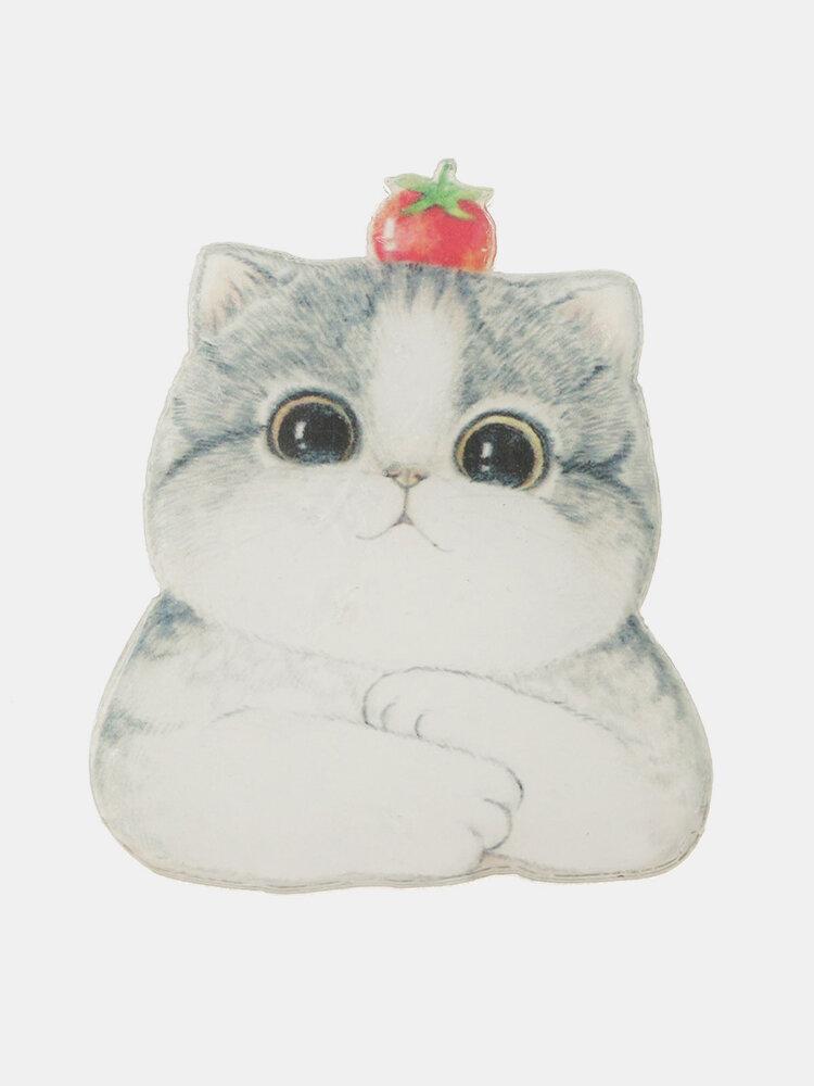 Acrylic Cat Badge Brooch Pins