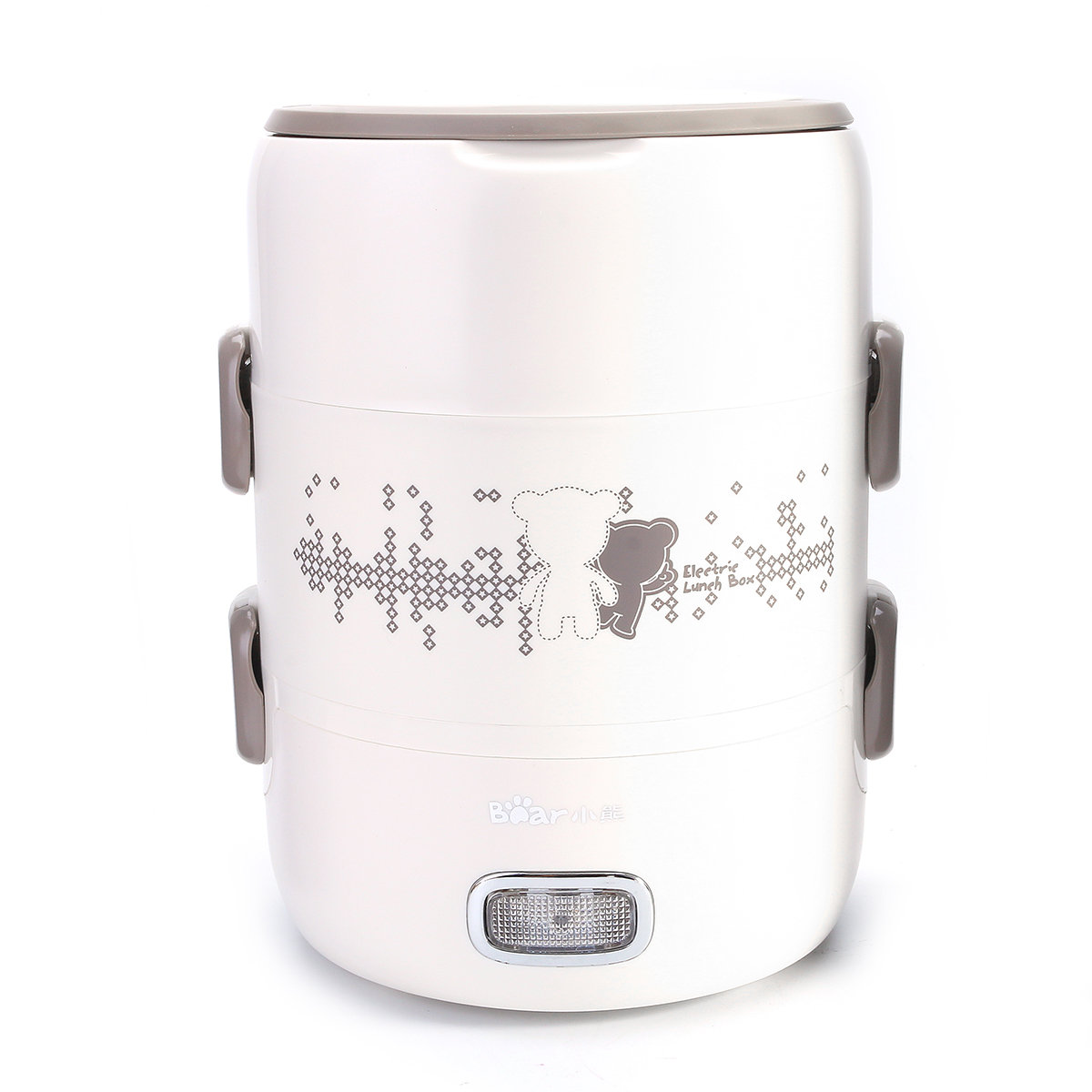 2L Electric Lunch Box Heating Box Seal Keep Fresh Rice Cooker