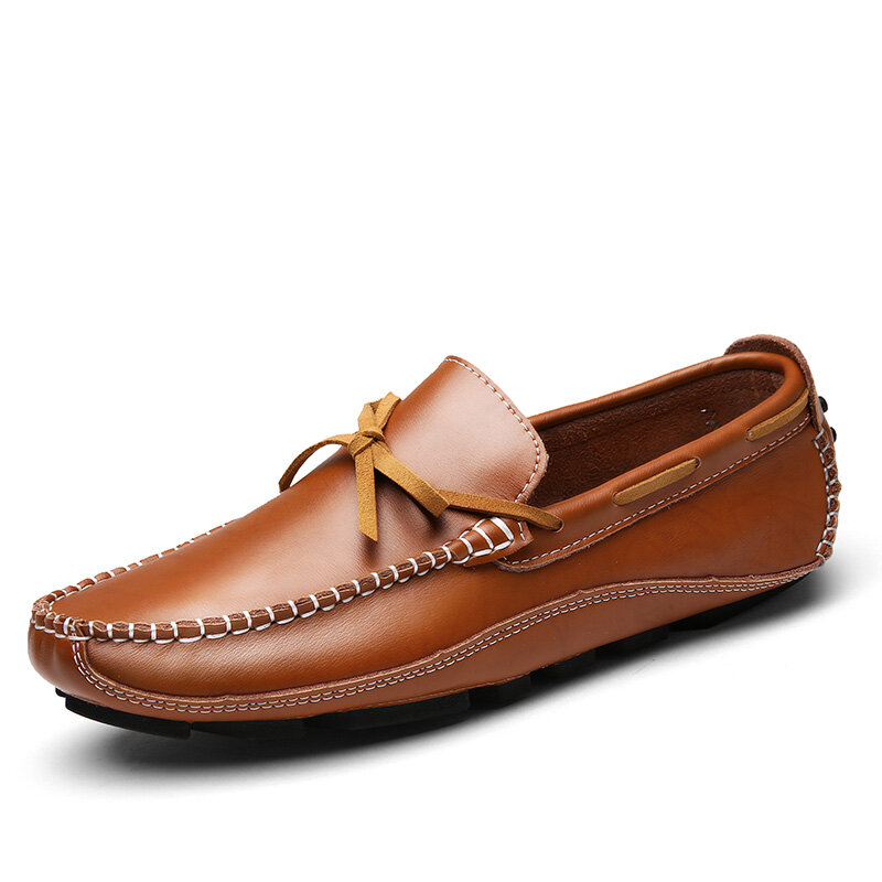 Men_Hand_Stitching_Leather_Slip_Resistant_Soft_Sole_Casual_Loafers
