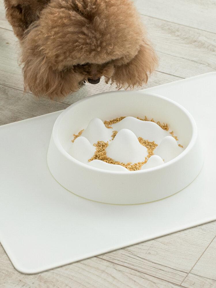 Jordan&Judy Ciotola per alimenti per animali domestici Rimani in salute Prevenire l'obesità da materiale PP