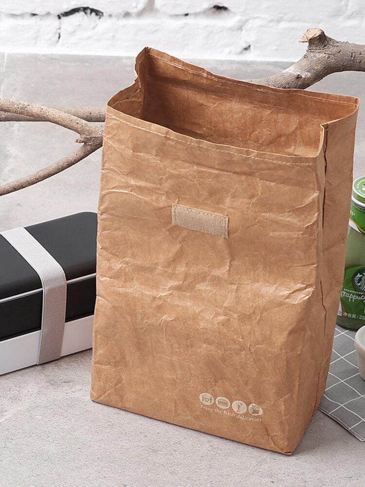 كرافت ورقة بينتو حقيبة حماية البيئة دوبونت ورقة كيس الألومنيوم فيلم مربع