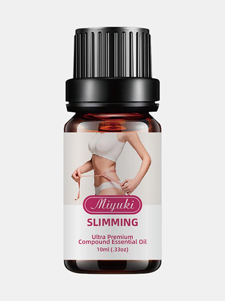 Adelgazar Perder peso Aceites esenciales Pierna delgada Cintura Quemar grasa Peso natural puro Belleza Cremas adelgazantes