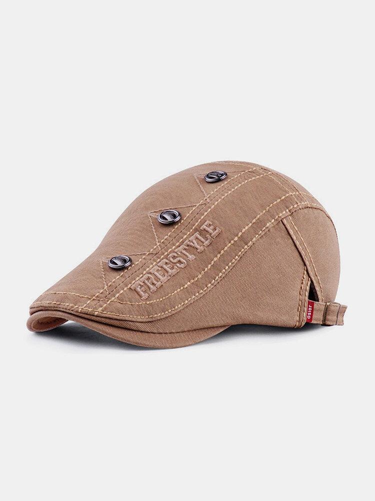 Vintage Casual Literary Beret Caps Breathable Flat Caps