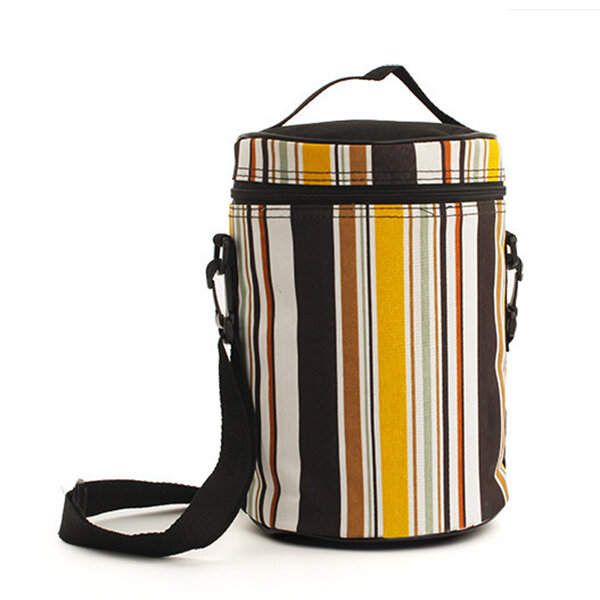 SaicleHome_Vintage_Oxford_Lunch_Tote_Bag_Cooler_Insulated_Handbag_Zipper_Picnic_Travel_Striped_Bags