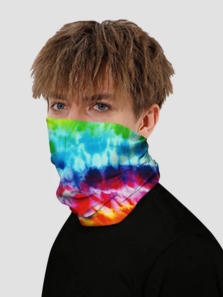 Tie Dye Digital Printed Insect-proof Mask Multifunctional Mask Magic Turban