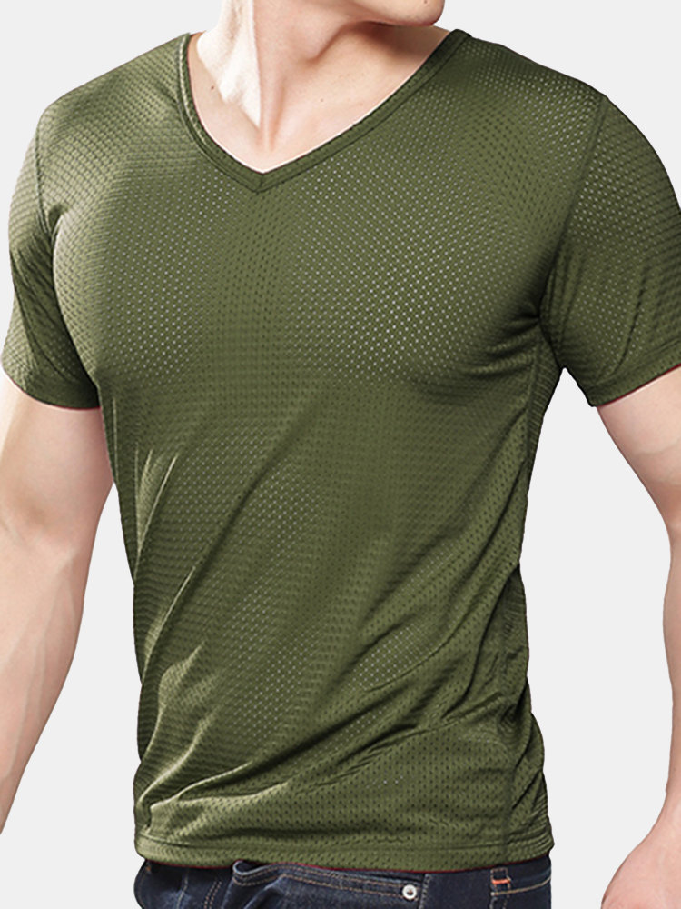 Frieed Mens Slim Fit Printed Short Sleeve Tee Jersey Casual Summer Polo Shirts