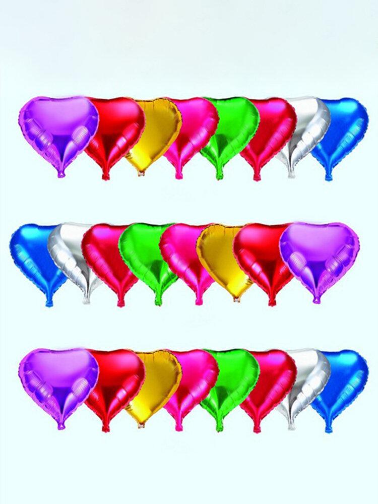 18in फ़ॉइल हीलियम गुब्बारे पार्टियों उत्सव के लिए गोल आकार