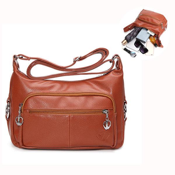 Women PU Leather Crossbody Bag Shopping Bag Shoulder Bag