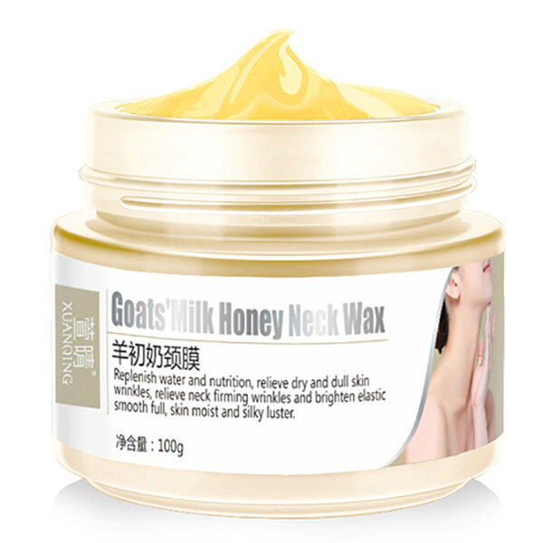 Goat Milk Honey Neck Cream Anti Wrinkle Aging Firming Necks Whitening Skin Care Facial Lifting