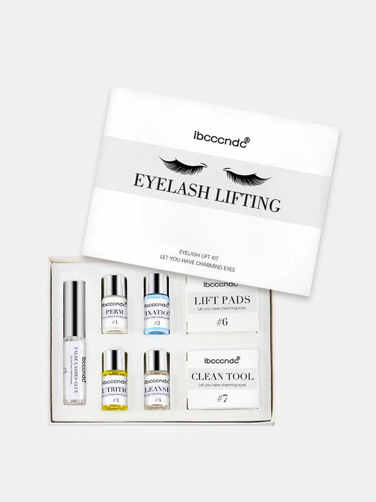 Profession 7 In 1 Eyelash Perming Lift Kit Eyelash Wave eyelashes Curling Perm Curler Kit Eye Lashes Extension Lifting Set