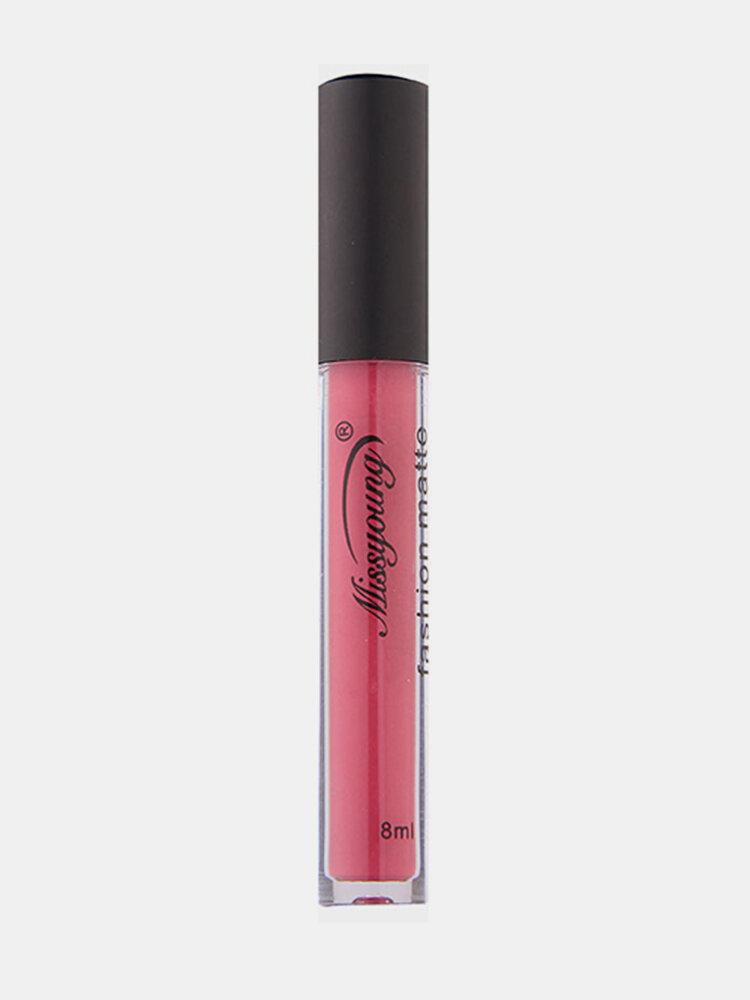 Missyoung Matte Liquid Lipstick Lip Gloss Waterproof Long Lasting Lips Makeup Sexy