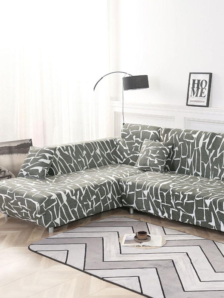 KCASA Fundas de sofá elásticas para sofá Funda de sillón para sala de estar 1/2/3/4 Fundas de asiento