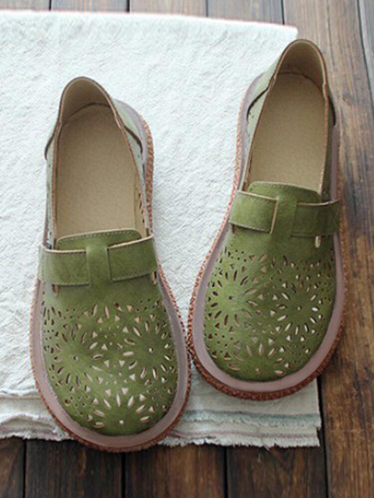 Fuochi d'artificio ritaglio casual slip slip on antiscivolo comode migliori scarpe mocassini piatti per le donne