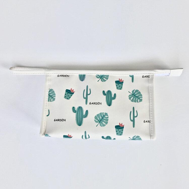 Large Capacity Simple Portable Cosmetic Bag Makeup Storage Bag Wash Bag