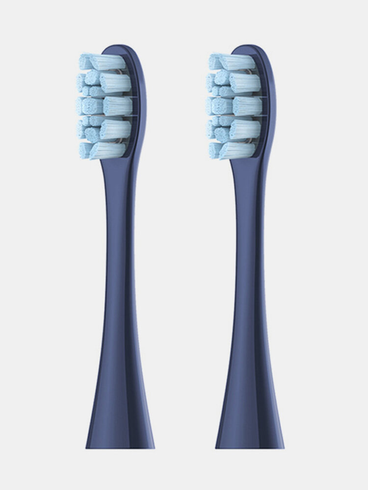 2Pcs Replacement Brush Heads Electric Sonic Toothbrush Automatic Deep Cleaning Tooth Brush Heads