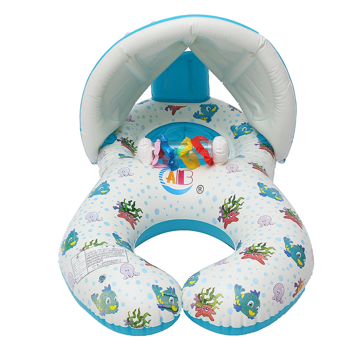 Mother Baby Safe Swimming Ring Kids Toy