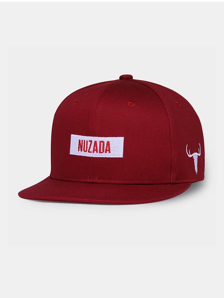 Men's Vogue Embroidery Adjustable Hat Cotton Cap Outdoor Sports Climbing Baseball Cap