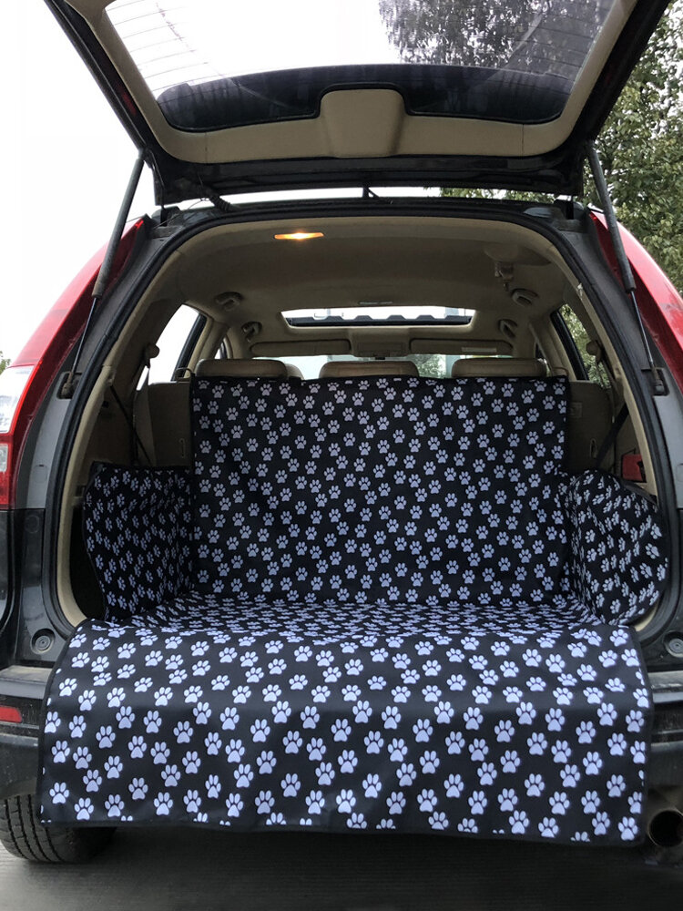 Extended Length Pet Dog SUV Travel Car Mat Puppy Backseat Cover Protector