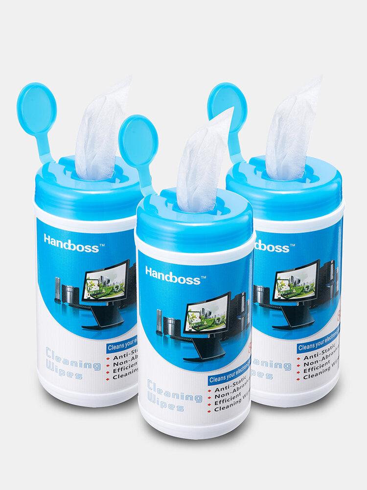 3 PCS Bottled Einweg-Desinfektionssieb Reinigungstücher 88 Zählungen pro Flasche