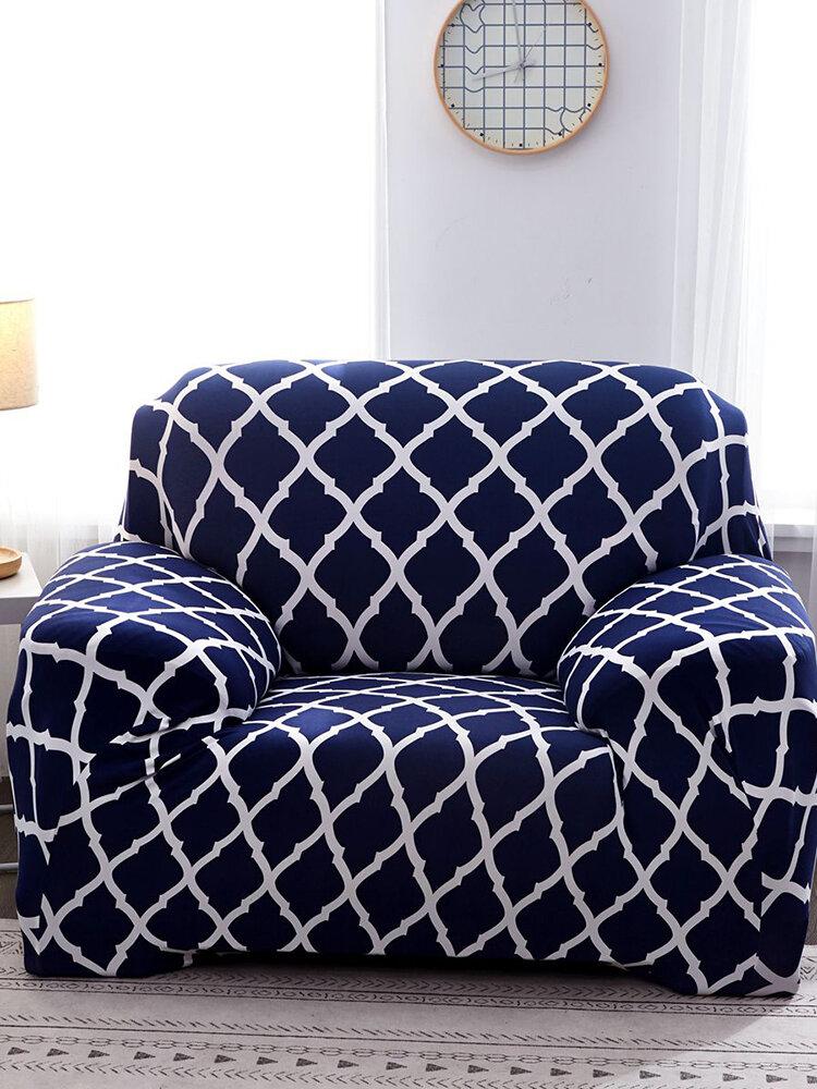 1/2/3/4 مقاعد الأريكة المرنة الشاملة كليًا غطاء أريكة قابل للتمدد ضيق التفاف الأغلفة غطاء سرير النهار