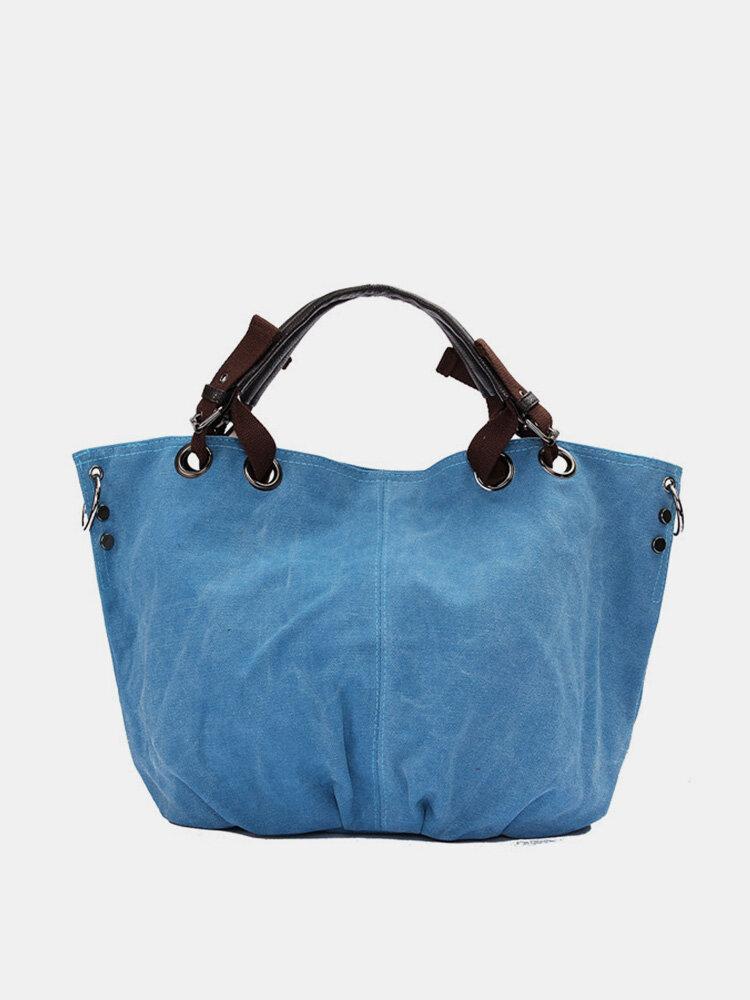 Women Casual Nice Canvas Handbag