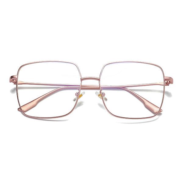 Anti Blue Rays Computer Glasses Reading Protection Eye Retro Metal Frames Glasses Frame Unisex