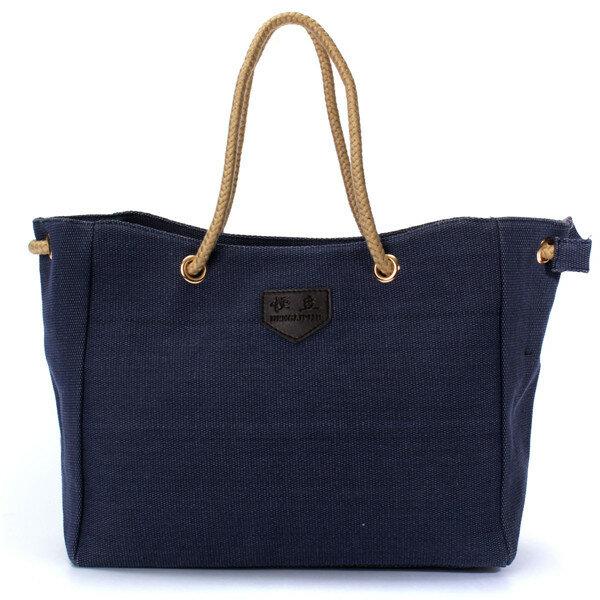 Women Casual Canvas Shopping Bag Tote Messenger Handbag