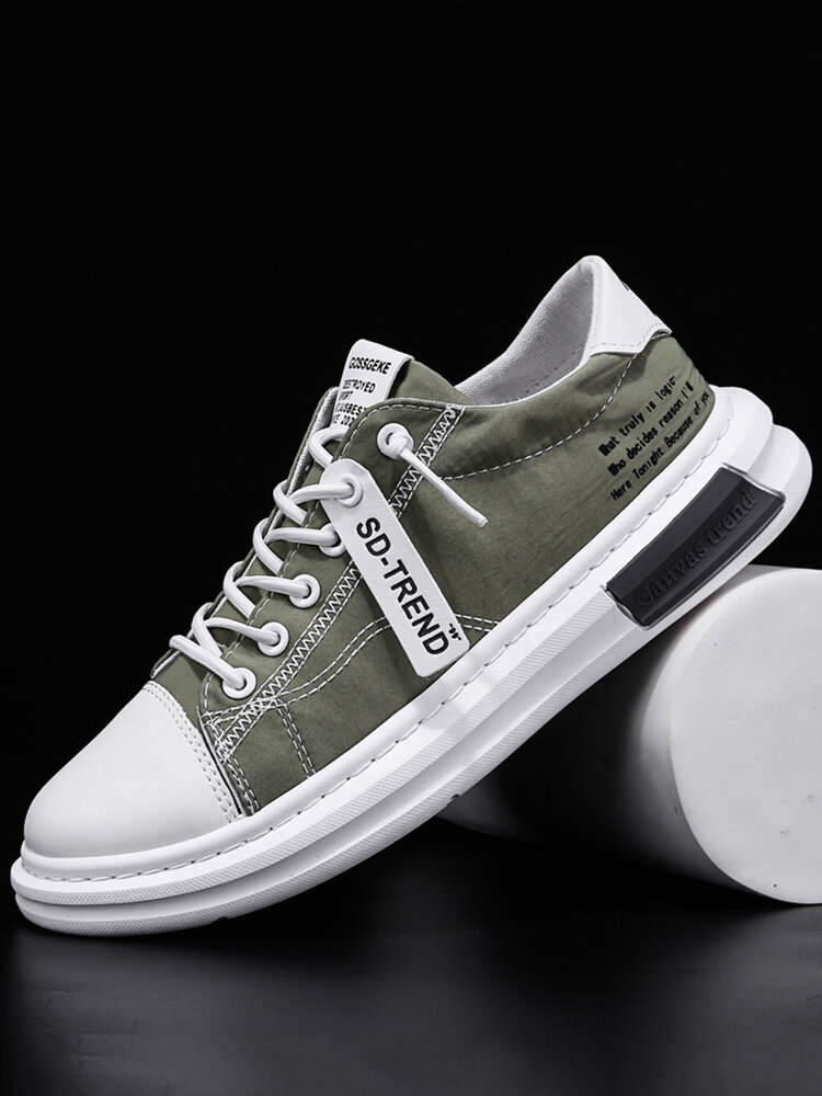 Men Stylish Ice Silk Cloth Breathable Quick Drying Casual Shoes