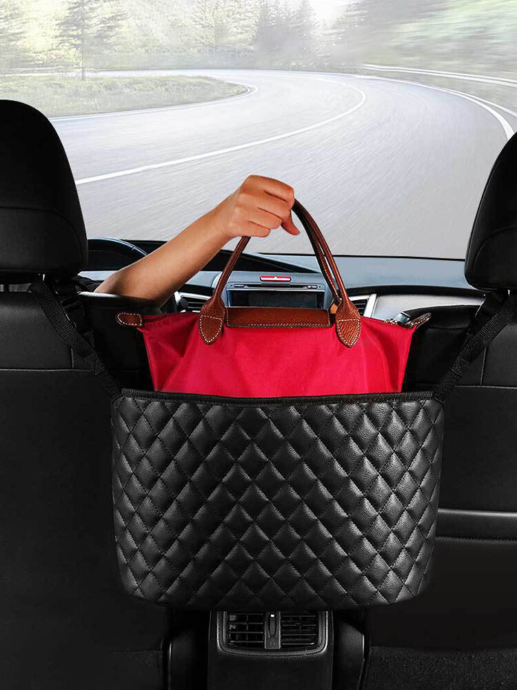 Universal Car Storage Pocket Storage Supplies Between The Two Seats Of The Car Suspension Type Car Storage Bag