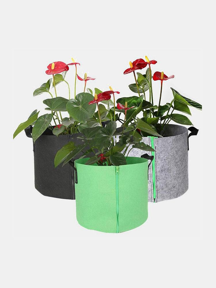 Cultivo de plantas Bolsa Jardinera de hortalizas para macetas DIY Plantación de macetas de jardín de patatas Cultivo ecológico Bolsa