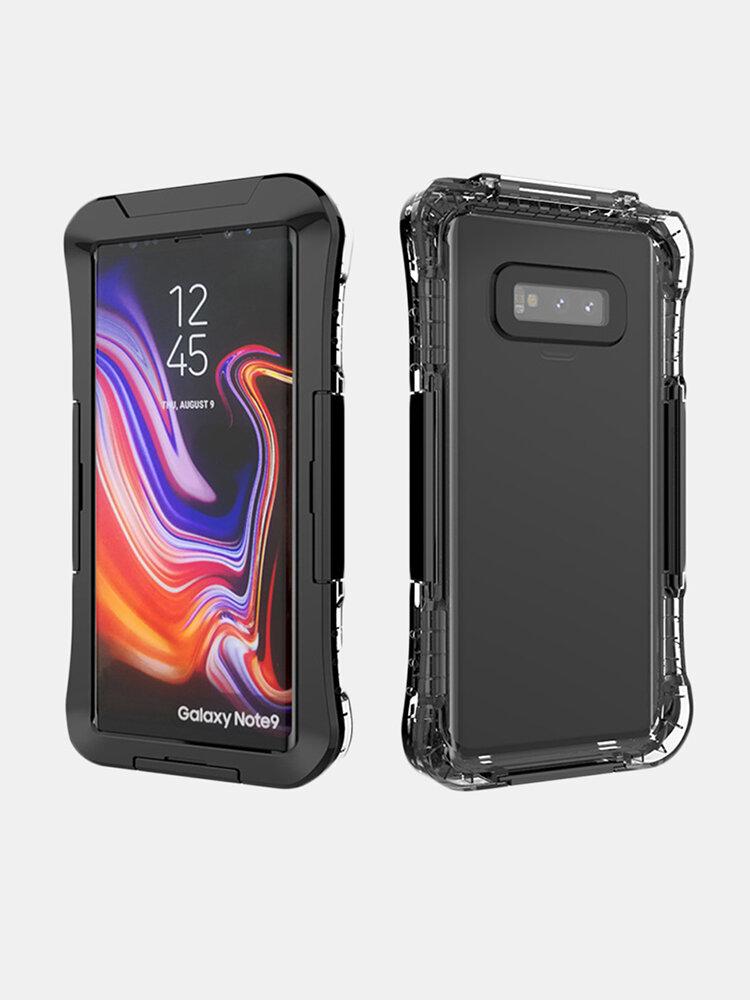 Samsung S10 Waterproof Shell Dual-use Anti-drop Dustproof  PC Phone Case