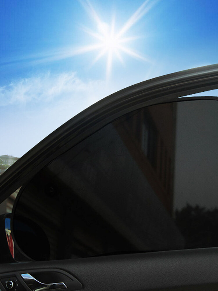 Parasol para ventana de automóvil - (2 unidades) - Parasol para ventanas de automóvil de 26