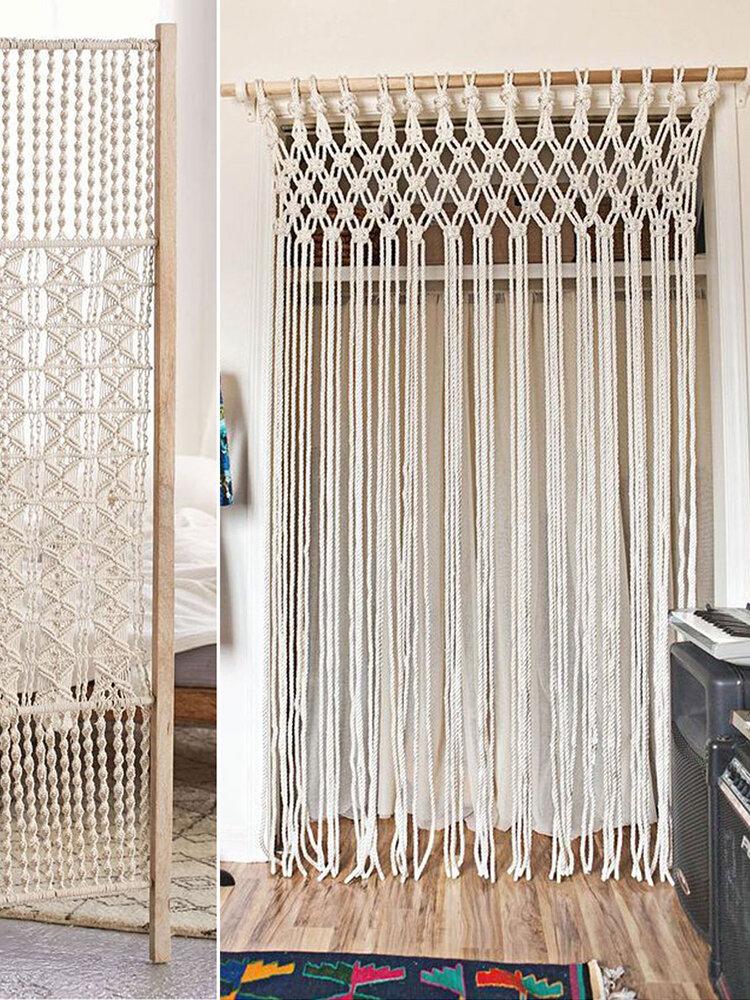 1000g 4-6mm corde de coton macramé cordon outils de bricolage cordes pour jardin déco à la maison