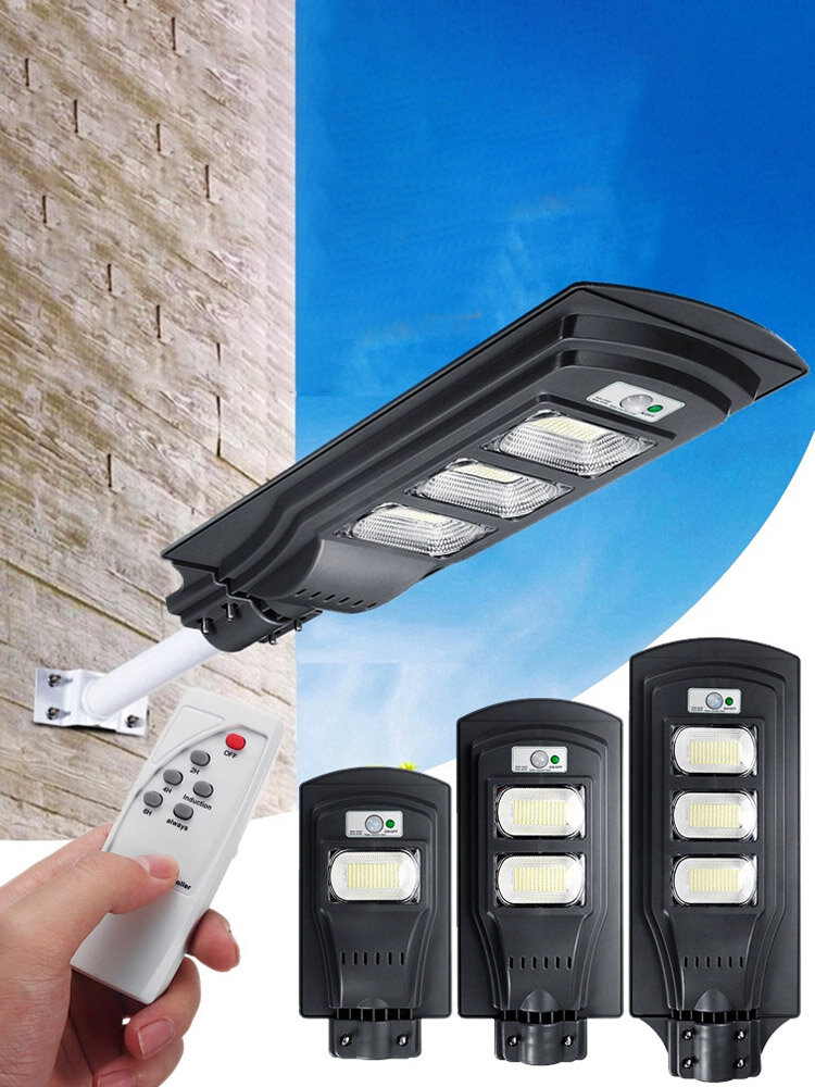 <US Instock>Augienb 120W / 240W / 360W Solar Led Wall Lamp Radar Street Light Super Bright Pir Motion Sensor Security Lamp For Outdoor Garden