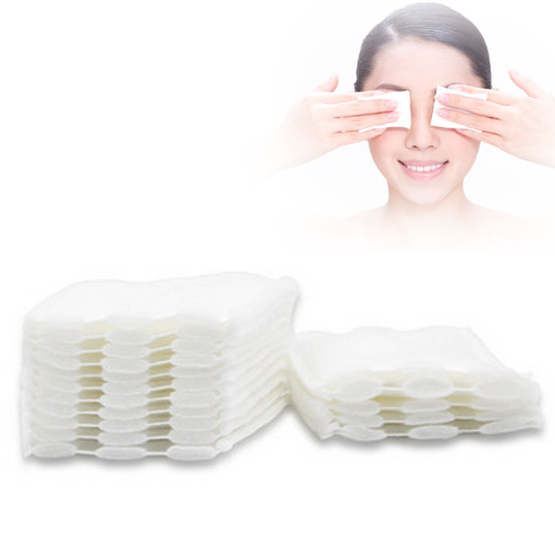 500Pcs/Pack Cotton Pad Makeup Remover Facial White Wipe Removing Beauty Tools