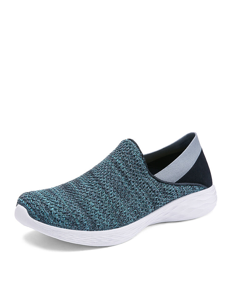 Men Brief Soft Sole Light Weight Casual Wearable Walking Shoes