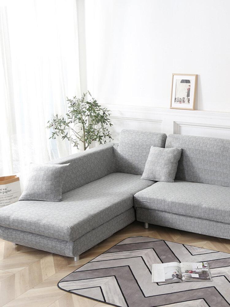 KCASA 1/2/3/4 Sitzbezug Elastic Couch Sofabezug Sessel Schonbezug für Wohnzimmer Küche