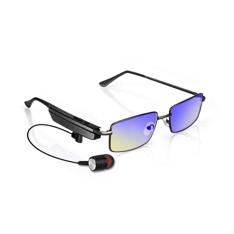 Bluetooth Headset Glasses Radiation Protection Anti-Blue Ray Anti-Fatigue Wireless Earphone Glasses