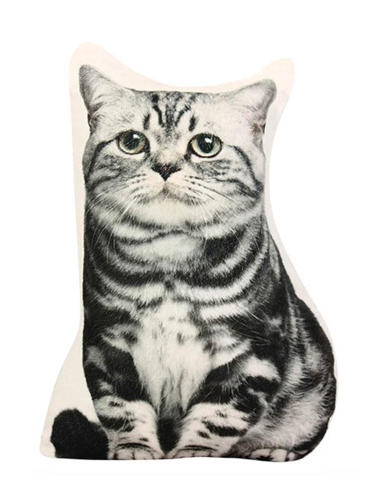 Creative 3D Cute Throw Pillow Plush Soft Sofa Car Office Cushion Gift